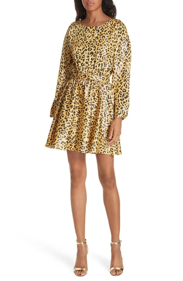 """<p>We're seeing leopard prints everywhere for New York Fashion Week, so this <a rel=""""nofollow"""" href=""""https://www.popsugar.com/buy/DVF-Animal-Print-Dress-363611?p_name=DVF%20Animal%20Print%20Dress%20&retailer=shop.nordstrom.com&price=598&evar1=fab%3Aus&evar9=45244502&evar98=https%3A%2F%2Fwww.popsugar.com%2Ffashion%2Fphoto-gallery%2F45244502%2Fimage%2F45244503%2FDVF-Animal-Print-Dress&list1=shopping%2Cdiane%20von%20furstenberg%2Cnordstrom%2Cfall%20fashion%2Cfall%2Ceditors%20picks%2Ceditors%20picks&prop13=desktop&pdata=1"""" rel=""""nofollow"""">DVF Animal Print Dress </a> ($598) is a great investment. It can transition from the office to a party with just a few accessory swaps. Plus, the metallic sheen has my heart.</p>"""