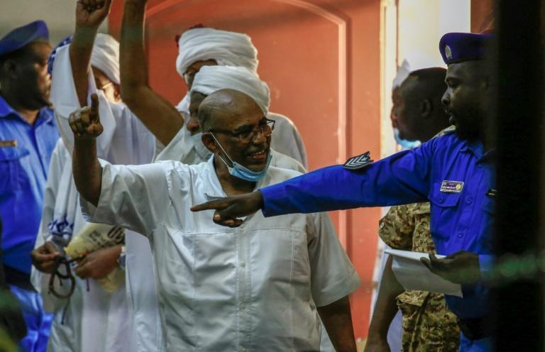 A deal between Khartoum and Israel would have been unthinkable under the old regime of ex-president Omar al-Bashir -- here photographed during his ongoing trial earlier this month -- but normalising ties with the Jewish state remains controversial