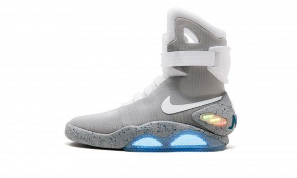 PHOTO: Shown in this undated photo is the Nike Mag, Back To The Future 2016 shoe. (Sotheby's)