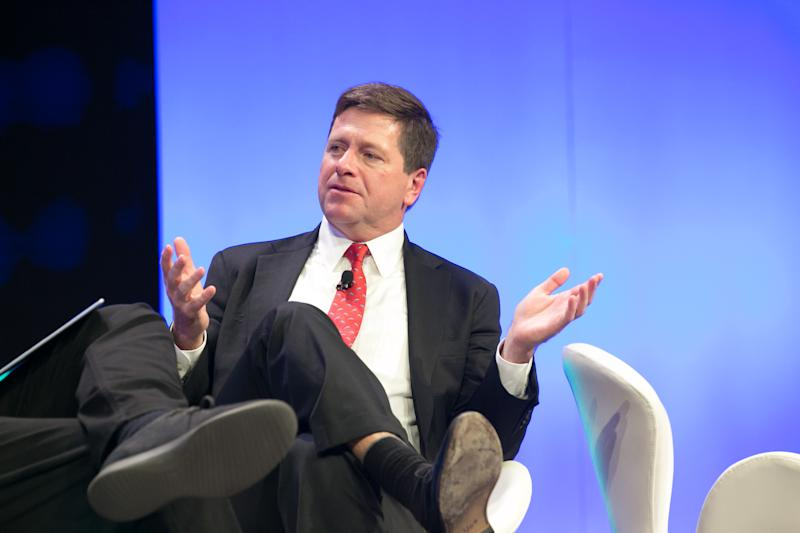 SEC Chair Clayton: Would-Be Bitcoin ETFs Have 'Work Left to Be Done'