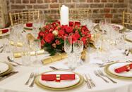"""<p>It's all about lunch in Denmark. The <span class=""""redactor-unlink"""">Julefrokost</span> is a gathering of friends or colleagues that centers around festive food, drinks, and songs. One Julefrokost staple is a <a href=""""https://www.housebeautiful.com/entertaining/holidays-celebrations/g2791/christmas-dessert-recipes/"""" rel=""""nofollow noopener"""" target=""""_blank"""" data-ylk=""""slk:rice pudding dessert"""" class=""""link rapid-noclick-resp"""">rice pudding dessert</a> that has an almond inside. Whoever finds the almond wins a prize.</p>"""