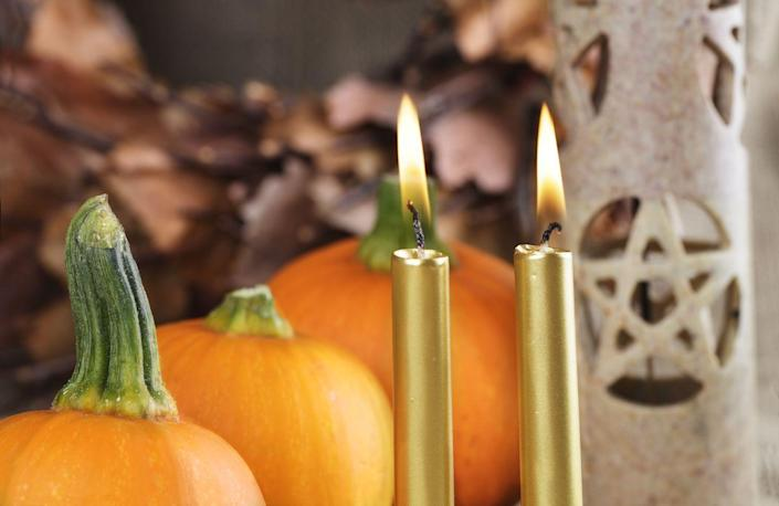 """<p>According to History.com, the <a href=""""https://www.history.com/topics/halloween/history-of-halloween"""" rel=""""nofollow noopener"""" target=""""_blank"""" data-ylk=""""slk:first Halloween celebrations can be traced back to the ancient Celts"""" class=""""link rapid-noclick-resp"""">first Halloween celebrations can be traced back to the ancient Celts</a>. They lived in the area now occupied by Ireland, the United Kingdom, and northern France, and celebrated a festival called Samhain on October 31st. It marked the day before their new year, the start of winter, and a time when the dead were believed to return to Earth.</p>"""