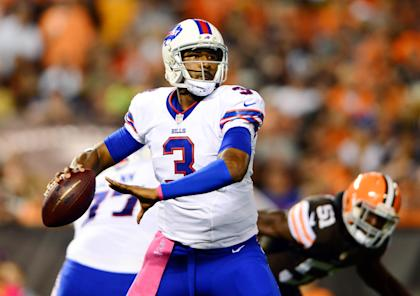 EJ Manuel enters year two with at least one legit weapon in his receiving corps (Andrew Weber-USA TODAY Sports)