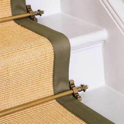 Install Stair Rods