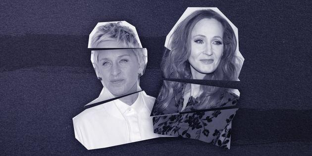 Ellen DeGeneres and JK Rowling are the latest case studies in A-list branding gone wrong.