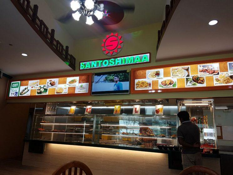Santoshimaa Indian Restaurant is located at the Tuas Amenity Center, near to the Tuas Crescent MRT station opening on 18 June 2017. (Photo: Audrey Kang/Yahoo Lifestyle Singapore)
