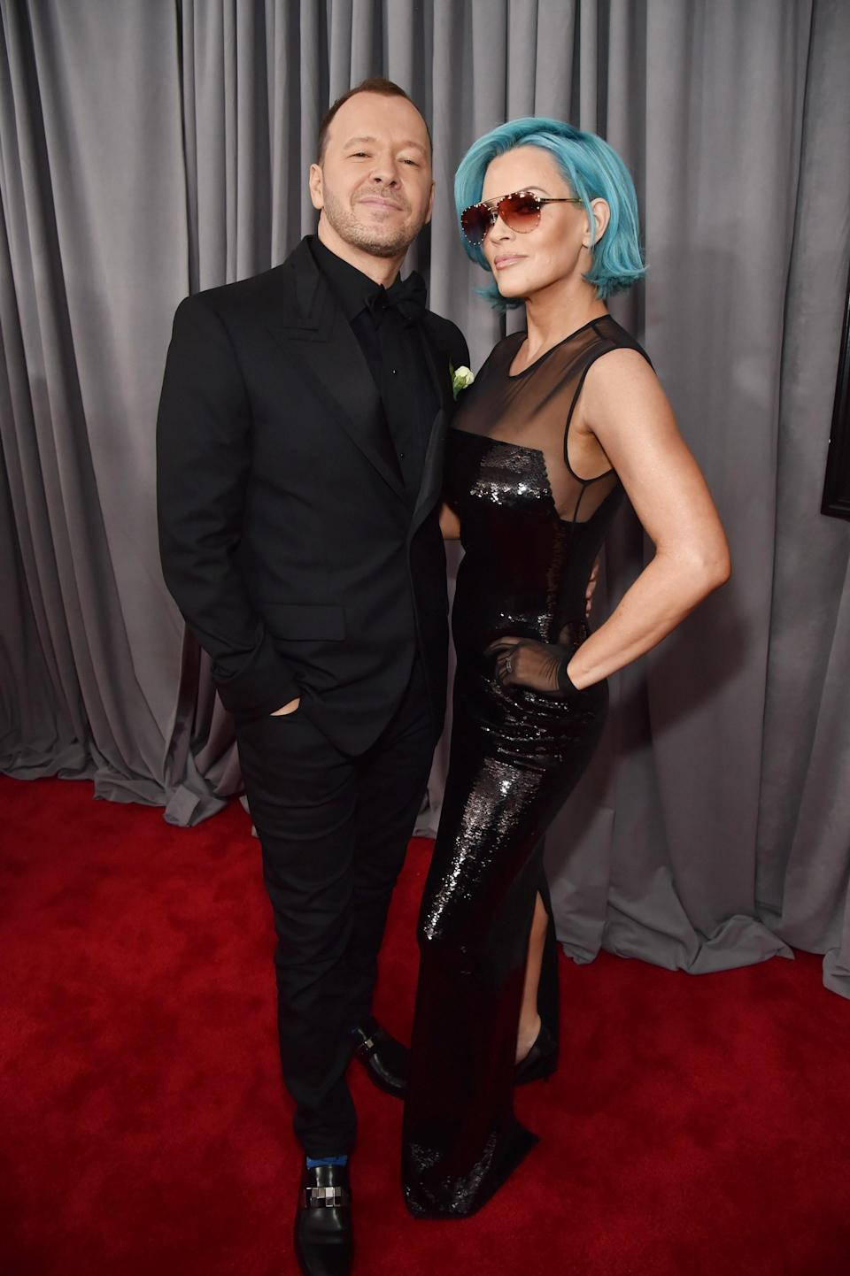 """<h1 class=""""title"""">Donnie Wahlberg and Jenny McCarthy</h1><cite class=""""credit"""">Photo: Getty Images</cite>"""