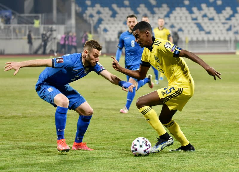 FILE PHOTO: World Cup Qualifiers Europe - Group B - Kosovo v Sweden