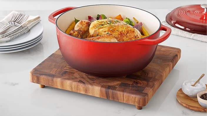 Lodge is a classic — this pan will get better and better with age. (Photo: Amazon)
