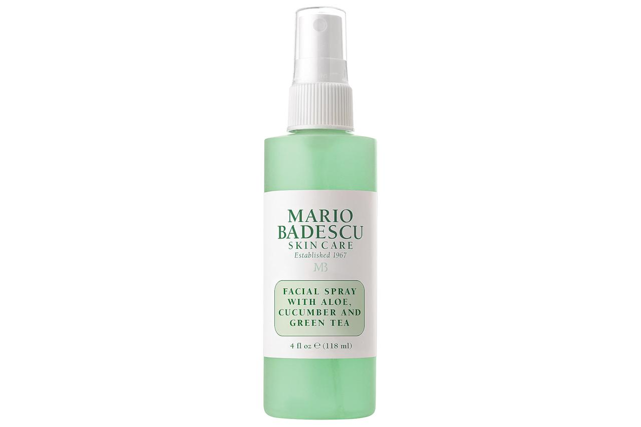 Mario Badescu's facial spray with rosewater has been a cult-favorite for years, and now the brand released a new formulation - featuring green tea! This one's chock full of the tea's beneficial antioxidants that gives your skin a rejuvenating boost with each use.Buy It!Mario Badescu Facial Spray with Aloe, Cucumber and Green Tea, $7; ulta.com