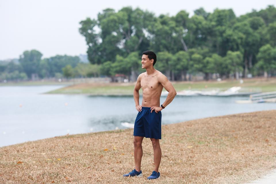 Singapore #Fitspo of the Week: Darren Spruyt (PHOTO: Cheryl Tay)