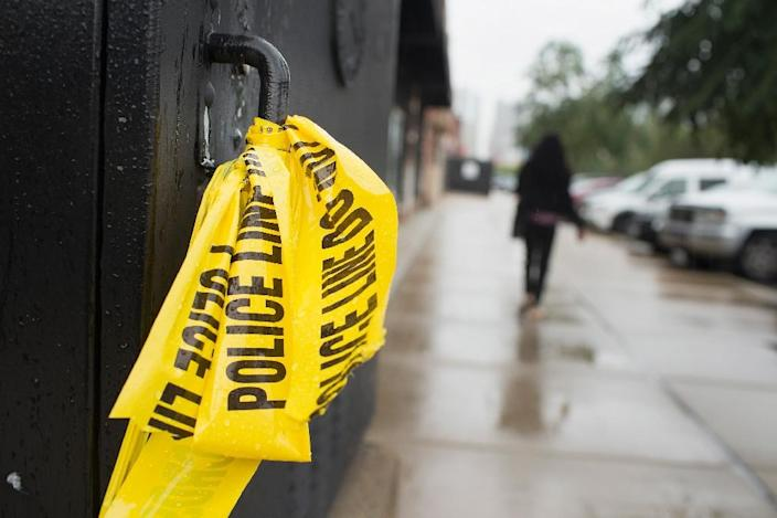 After years in decline, the pace of homicides is on the rise in some 30 big American cities (AFP Photo/Scott Olson)