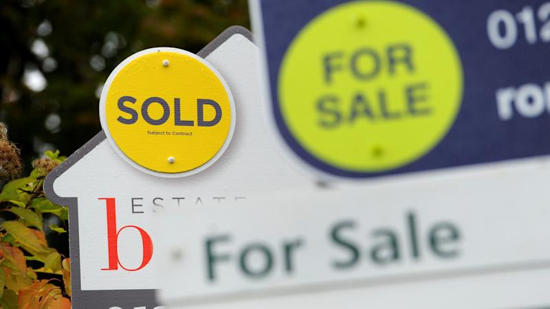 House prices show small rise in February