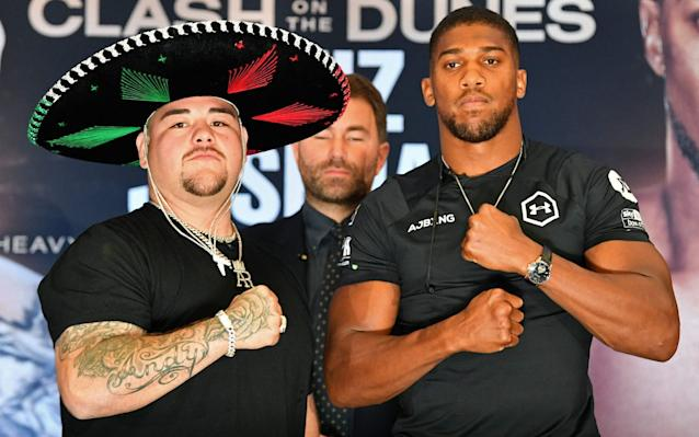 Anthony Joshua and Andy Ruiz Jr will have their rematch in December - AFP