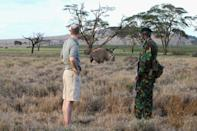 <p>Like Prince Harry, Prince William has close ties to Africa. He has often visited Kenya as Royal Patron of Tusk and President of United For Wildlife. And in October 2010, it's where he got down on one knee and popped the question to Kate Middleton.</p>