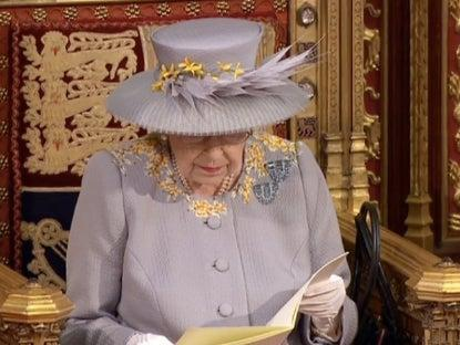 The Queen's Speech took place in parliament on Tuesday (Parliament TV)