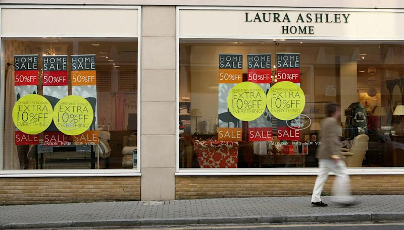 Laura Ashley to close 40 UK stores as chairman plots China expansion