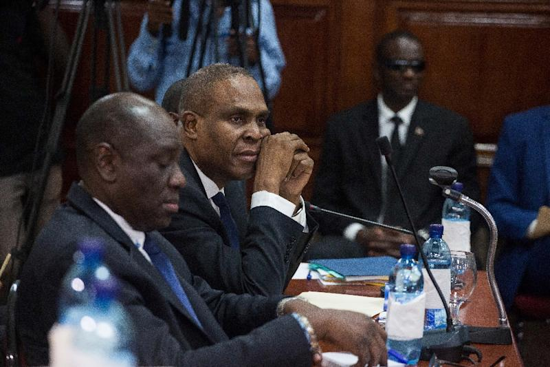 Jean-Henry Ceant was named as Haiti's prime minister on August 5 but it was only this weekend that lawmakers backed him and his government