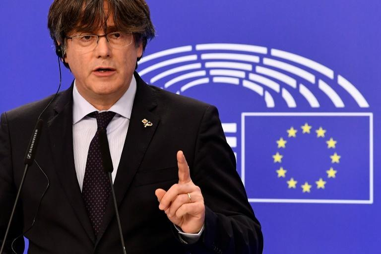 Former Catalan leader Carles Puigdemont fled to Belgium after Catalonia's failed 2017 independence bid