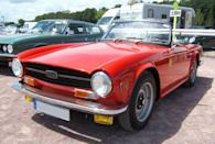 <p>Slightly old-fashioned in design, the TR6 is one of the most beloved examples of England's automotive specialty, the roadster.</p>