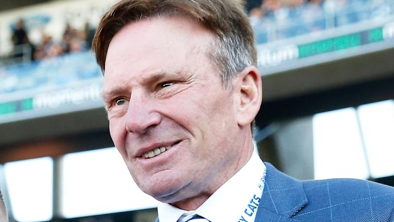 Former Footy Show host Sam Newman is pictured.