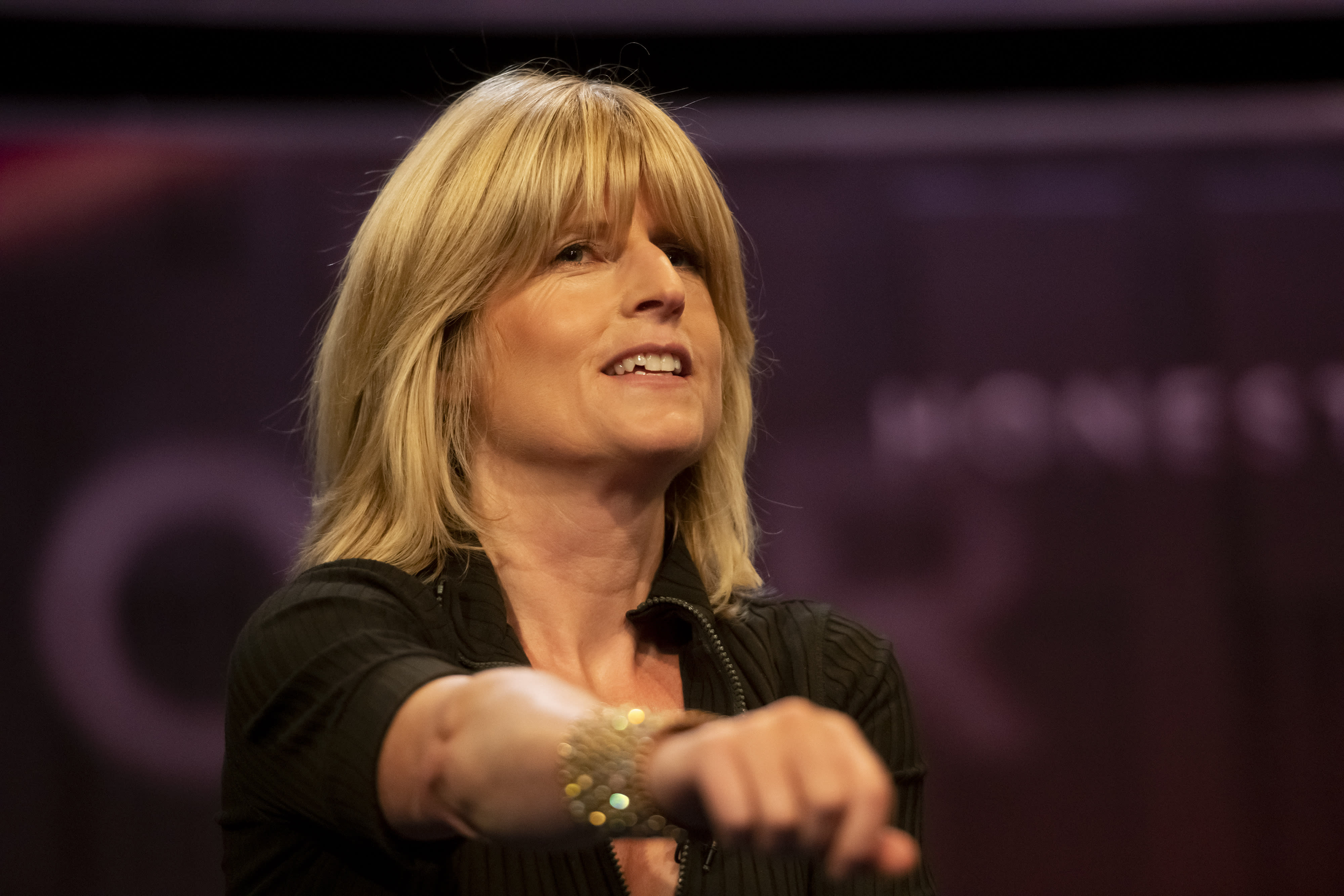 Rachel Johnson said her brother's comments were 'reprehensible'. (Getty)