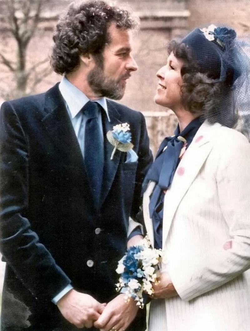 Barbie and Graham married on February 29 in 1980 (SWNS)