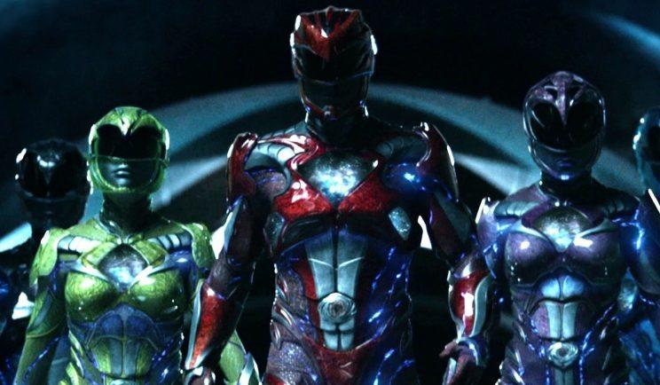 The new Power Rangers - Credit: Lionsgate