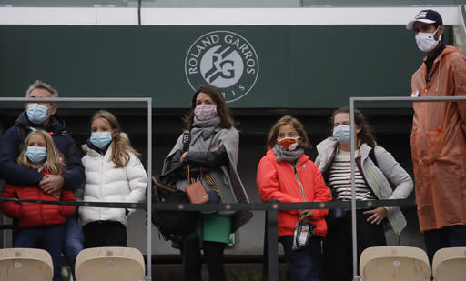 'Strange mix': Lucky fans weirded out by empty French Open
