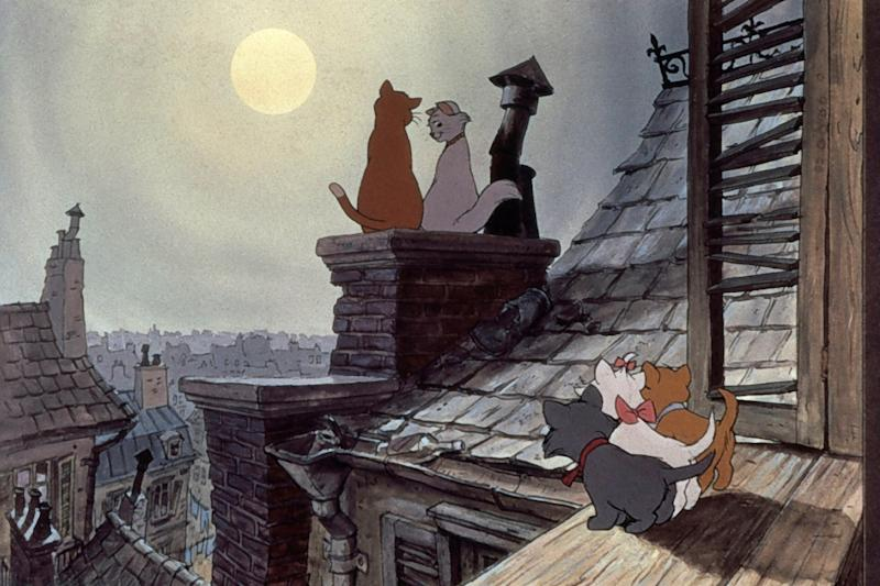 The Aristocats: What is it about rooftops and romance?