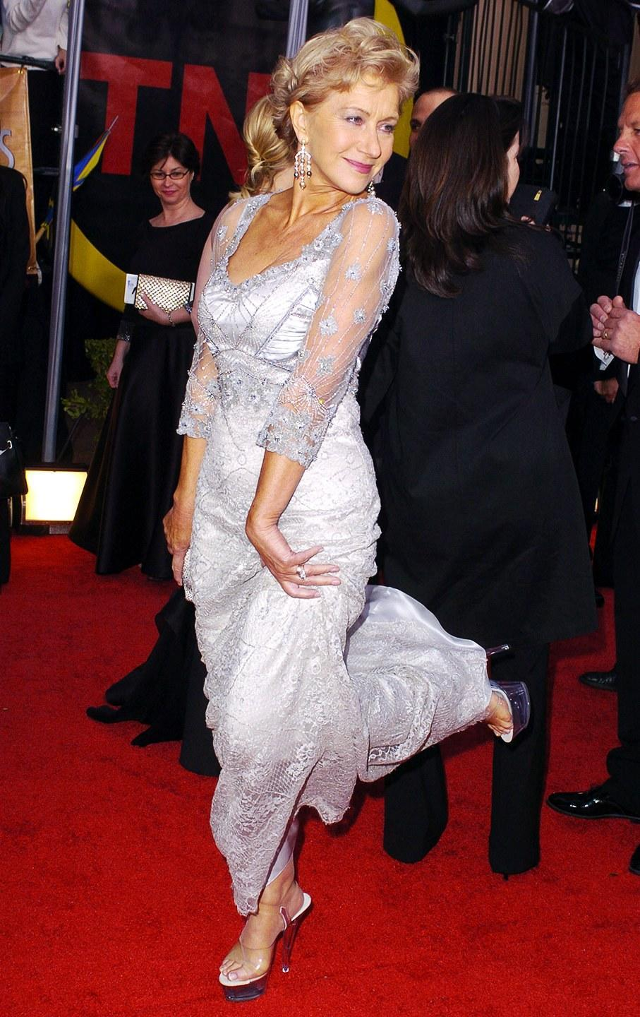 <p>At the 10th annual Screen Actors Guild Awards.</p>