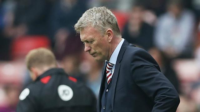 Joshua King's late winner for Bournemouth relegated Sunderland from the Premier League, leaving manager David Moyes unsure of his future.