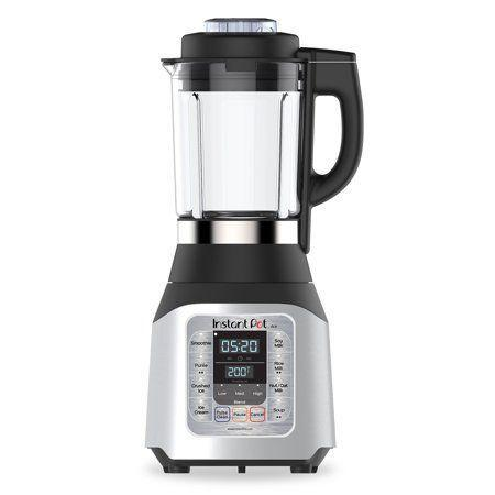 "<p><strong>Instant Pot</strong></p><p>walmart.com</p><p><strong>$79.00</strong></p><p><a href=""https://go.redirectingat.com?id=74968X1596630&url=https%3A%2F%2Fwww.walmart.com%2Fip%2F626991948&sref=https%3A%2F%2Fwww.goodhousekeeping.com%2Fappliances%2Fblender-reviews%2Fg4864%2Fbest-blender-reviews%2F"" rel=""nofollow noopener"" target=""_blank"" data-ylk=""slk:Shop Now"" class=""link rapid-noclick-resp"">Shop Now</a></p><p>Soup fans, look no further: Instant Pot's first foray into the blender category doesn't just pulverize fruit for smoothies: It's <strong>able to heat food inside the blender jar to temps upwards of 200°F,</strong> making it the ideal tool for processing foods like homemade soup, soy milk, or rice milk. It was able to get super hot when cooking and comes with pre-programmed settings for making ice cream, nut milk, purees, and more. It wasn't the best performer when crushing ice or hard foods like kale.</p>"