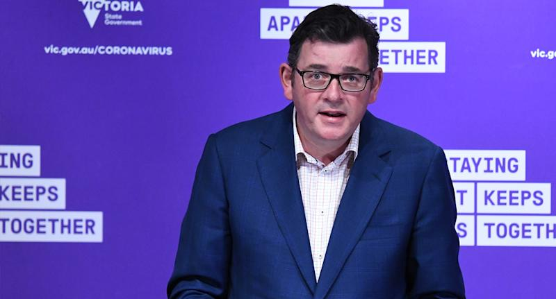 Daniel Andrews said he was disappointed with the breach. Source: AAP