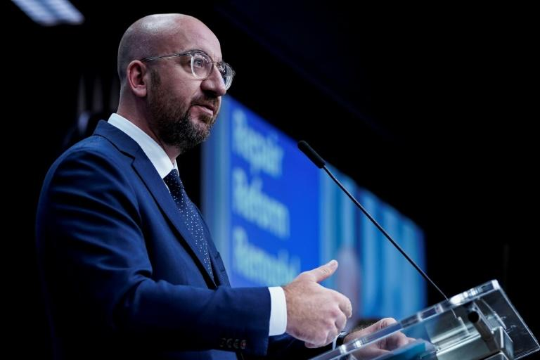 European Council President Charles Michel proposed a five billion euro Brexit reserve fund when he unveiled his latest proposal for a long-term EU budget that will be debated by bloc leaders next week
