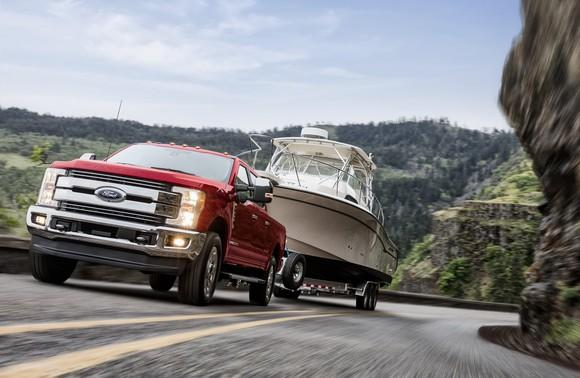 Big Ford Trucks >> Ford Is Riding Its Trucks And Big Suvs To Sales Gains As Smaller