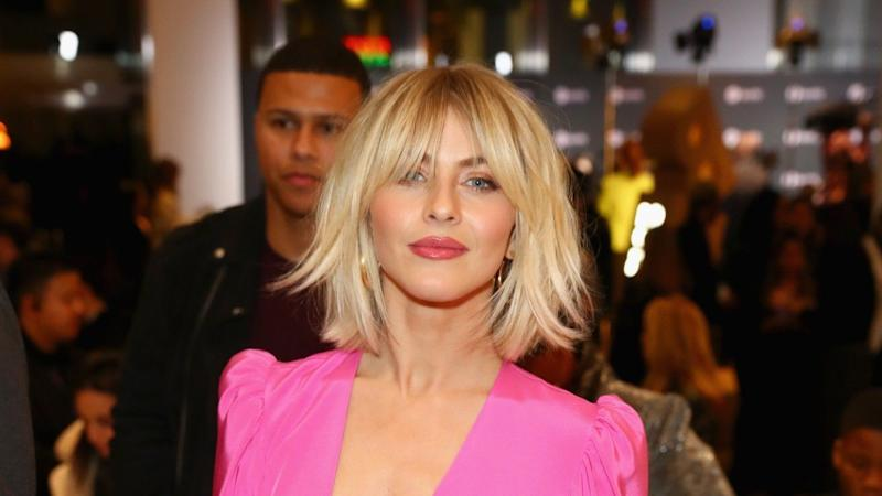 Julianne Hough New Haircut Pink