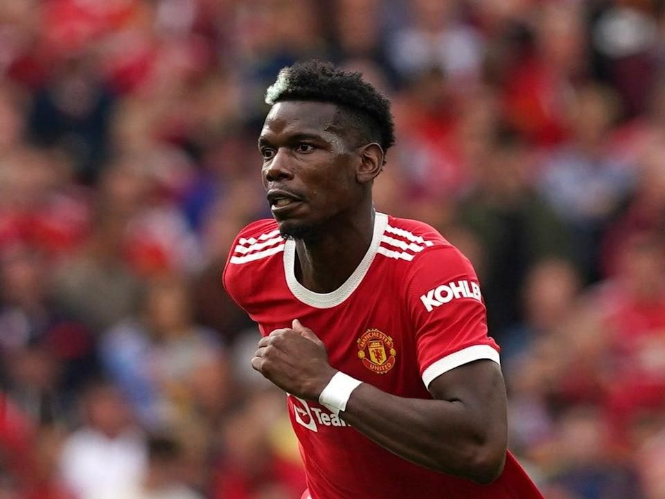Paul Pogba is in the final year of his contract at Old Trafford (Martin Rickett/PA). (PA Wire)