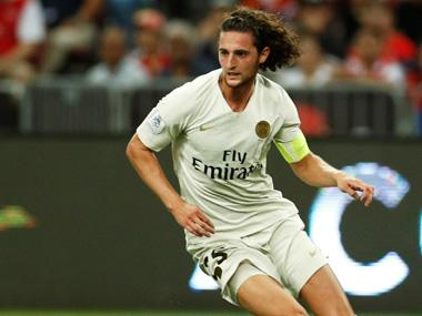 Ligue 1: Paris Saint-Germain's outcast midfielder Adrien Rabiot faces sack after being placed on 'mise a pied'
