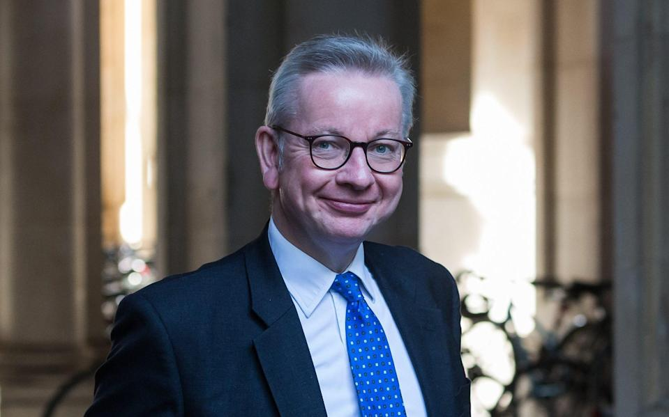 Michael Gove was among the senior figures who saw the paper - Barcroft Media/Barcroft Media