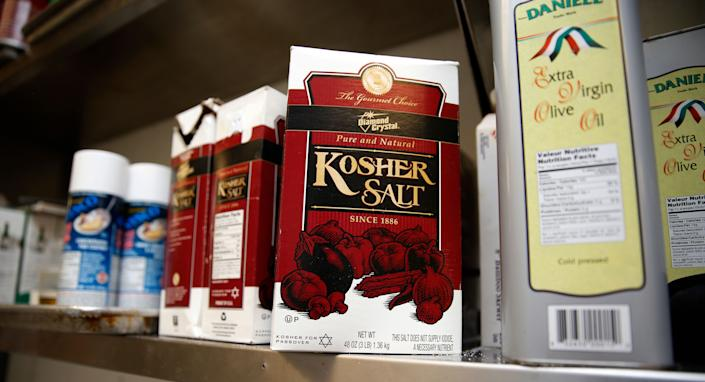 Diamond Crystal kosher salt is often the top picks of chefs, but it's also the most processed type of cooking salt. (Photo: Colin McConnell via Getty Images)