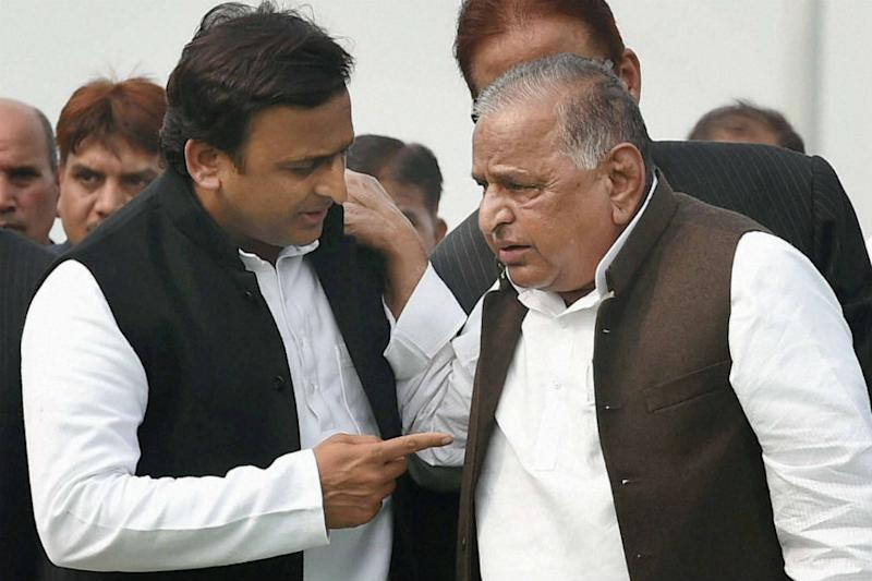 Relief for Mulayam, Akhilesh as CBI Says No Proof Against Father-Son in Disproportionate Assets Case