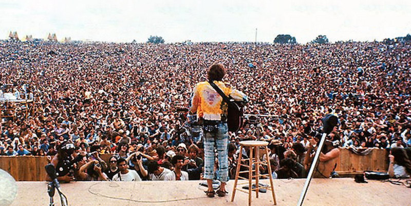 Full Woodstock recording to air on WXPN at exact time of original festival