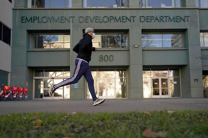 California Unemployment Benefits (Copyright 2020 The Associated Press. All rights reserve)