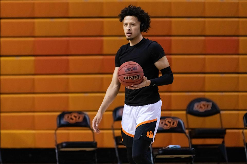 Oklahoma State Cowboys guard Cade Cunningham is locked in as the No. 1 NBA Draft pick.
