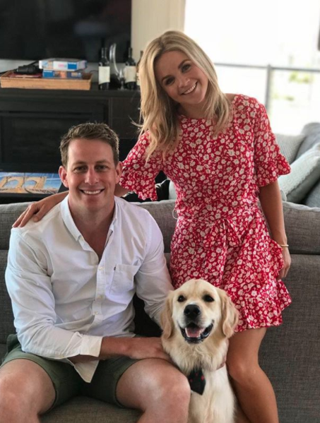 Emma and Charlie moved in together in 2016. Photo: Instagram