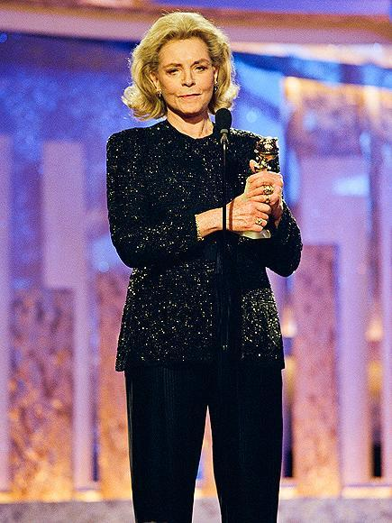 <p>Lauren Bacall won the Cecil B. DeMille Award in 1993.</p>