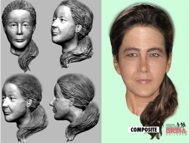 """Composite sketch of the """"Lady of the Dunes"""" released by Provincetown Police Dept. (Image: <a href=""""http://www.provincetown-ma.gov/index.aspx?NID=618"""" rel=""""nofollow noopener"""" target=""""_blank"""" data-ylk=""""slk:Town of Provincetown"""" class=""""link rapid-noclick-resp"""">Town of Provincetown</a>)"""