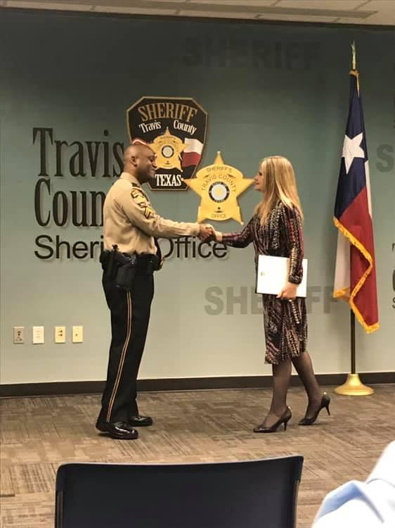 Stephen Broderick was identified as the gunman in the Austin shooting Sunday, April 18, 2021. The Travis County Sheriff's Law Enforcement Association shared this photo on their Facebook page in February 2019.