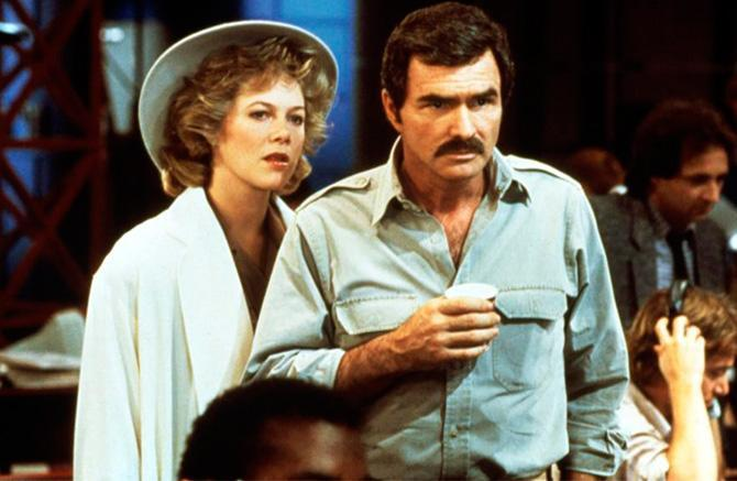 Kathleen con Burt Reynolds en Switching Channels (1988) – ©TriStar Pictures